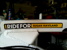 I Ride For Susan Haviland