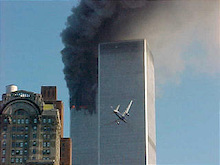 NYC Twin Towers Destroyed