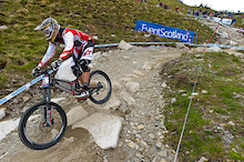 Fort William World Cup -  Greg Minnaar has won the DH!