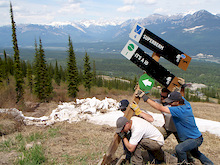 Kicking Horse Bike Park - Trail Crew Update #1 - 2011