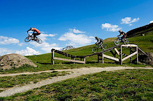 Mountain bikers are re-conquering Livigno's slopes