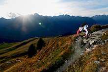 O'Neal and Canyon team up at Bike Park Tignes in France