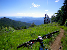 Rossland, BC:  Riding the Seven Summits