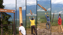 Kicking Horse Bike Park - Trail Crew Update #2 - 2011