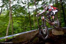 Mont Saint Anne World Cup 2011 - Day 2 in Photos
