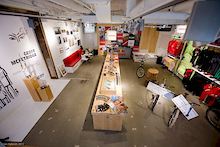 SRAM Pop-up Store for World Bicycle Relief