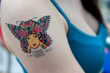 Pinkbike Tattoo Parlour at Kokanee Crankworx!