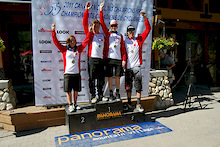 Canadian DH Mountain Bike Nationals at Panorama