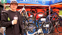 Mitch Delfs Bike Check - Kokanee Crankworx 2011