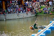Crankworx Colorado 2011 - Intergalactic Pond Crossing