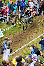 Somehow, somewhere, Peaty went out off the course and re-entered elsewhere. That's the story, anyway, but Peaty was unavailable for comment following the race. Look for more beta on that as we get word.