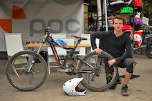 Richard Holmes meets the Whistler Mountain Bike Park