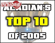 Acadian's Top Ten products of 2005