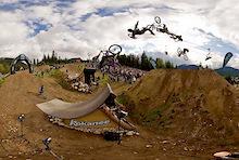 Kokanee Crankworx 2011 Best Trick 360 Interactive Panoramas