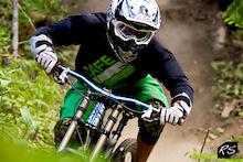 Silvia at Sun Peaks Bike Park - Justin Terwiel
