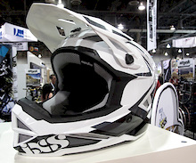 iXS Metis Helmet and Berrecloth Signature Knee Pads - Interbike 2011