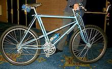 First Mountain Bike Ever - Interbike 2011