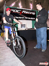 PDC Racing Shows Prototype Ride