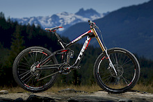 Riding Trek's Session 9.9 in Whistler - First Impressions