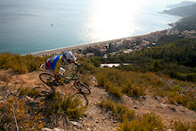 On board with Dan Atherton and Manuel Ducci at Finale Ligure