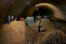 Dirtpark in Warsaw, Poland enroute to opening