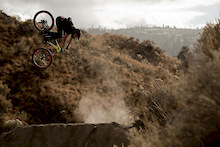Ian Killick rides Giant