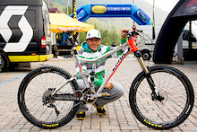 Bike check: Karim Amour's prototype Kona Abra Cadabra
