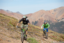 In the Chilcotins with the new Trek Slash
