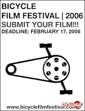 Submit your Film to the 2006 Bicycle Film Festival