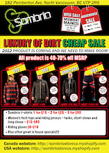 Sombrio's The Luxury of Dirt Cheap Sale