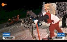 Mountainbiker vs Snowboarder - The Story