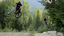 Hello Whistler! Summertime Dirt Jumping!