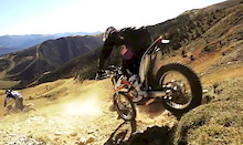 Cedric Gracia Rides Andorra on a KTM 350 - Video