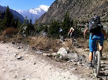 Biking the Himalayas with Sacred Rides
