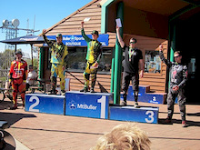 2012 Aussie Nationals - Brosnan and Hannah win Round 2