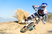 Gee Atherton rides the GT Fury