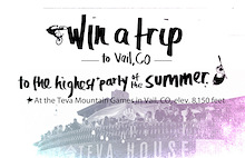 Win a trip to the Summer Teva Mountain Games