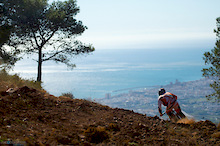 Downhill in Malaga with RoostDH