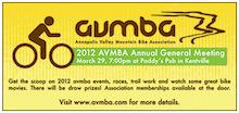 Nova Scotia: Annapolis Valley Mountain Bike Association AGM