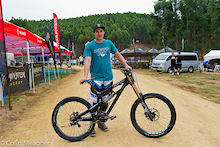 Jared Graves' Yeti 303 WC Carbon - Bike Check