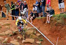 Pietermaritzburg World Cup 2012 - Tracey Hannah wins the Women's DH