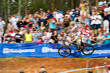Pietermaritzburg World Cup 2012 - Greg Minnaar wins!