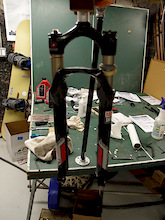 Rockshox Revelation U-Turn Spring Swap (Part 2)