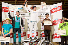 Martin Söderström wins Rocket Air Slopestyle 2012