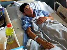 CJ Foust injured at Port Angeles
