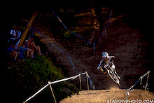 iXS European Downhill Cup 2012 - Nick Beer qualifies first in Leogang