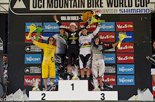 Results: Val di Sole Women's DH Finals - UCI World Cup 2012
