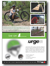 Urge Bike Products Ambassadors Contest