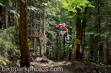 Coast Mountain Photography in the Whistler Bike Park