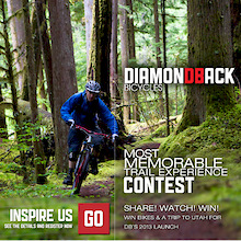 Win a 2013 Diamondback - DB Mountain Launch Contest Ending Soon!